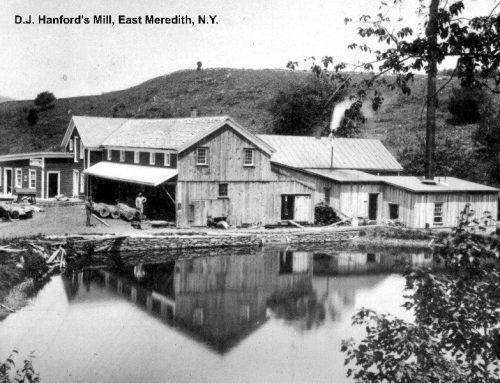 Hanford Mills circa 1890