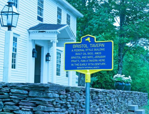 Historical Marker Installed Commemorating Bristol Tavern